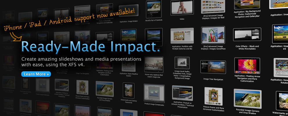 Ready-Made Impact with the XFS v4